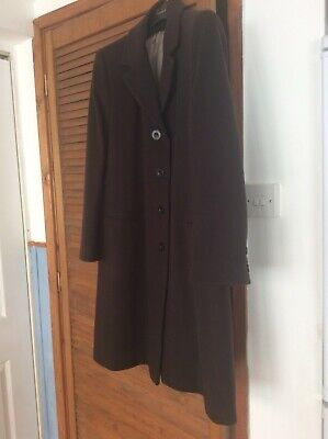 Ladies Wool Blend Black Austin Reed City Coat Size Uk12 75 00 Picclick Uk