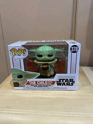 The Child with Cup - Star Wars The Mandalorian Funko Pop Vinyl Figure NEW Yoda