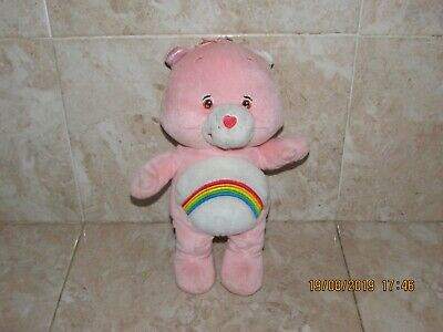 12 Inch Tall Learning Talking Rainbow Care Bear Plush Cuddly Soft Toy