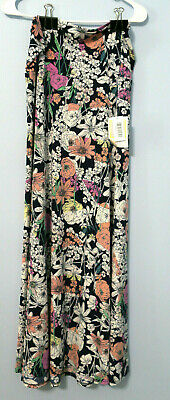 Lularoe Maxi Skirt Large NWT Colorful Floral