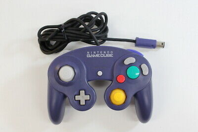 Official Nintendo GameCube Controller Pad Purple Discolor TIGHT Switch GC GO042