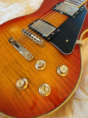 Nevada Les Paul Sunburst Electric Guitar with Padded Case.