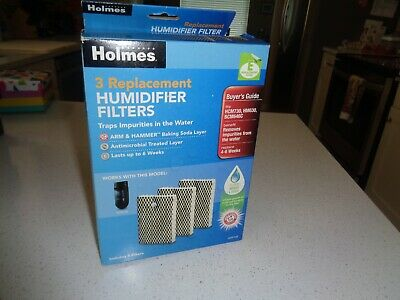 HOLMES HCM730 HUMIDIFIER Replacement Filter Pack of 3