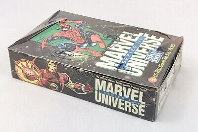 1992 Impel/SkyBox Marvel Universe Series 3 Trading Card Factory Sealed Box
