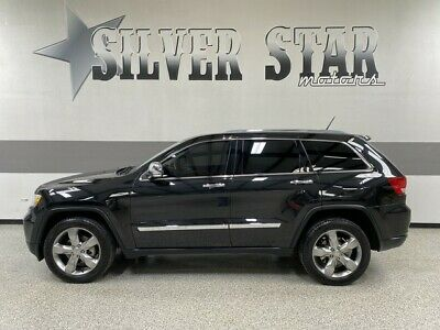 2012 Jeep Grand Cherokee  2012 Grand Cherokee Overland V6 RWD Leather Roof AllPower GPS 1TXowner Nice!