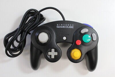 Official Nintendo GameCube Controller Black Cosmetic Wears TIGHT Switch GO051