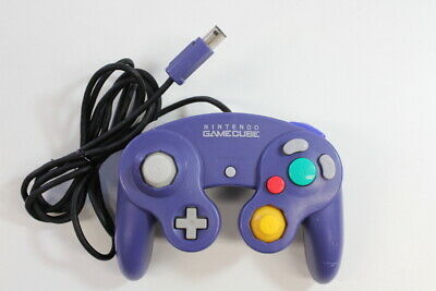Official Nintendo GameCube Controller Purple Cosmetic Wears TIGHT Switch GO052