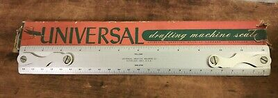 NOS W/&G Drafting Scale OP Bevel Half and Full 12 inch CLOSING SALE