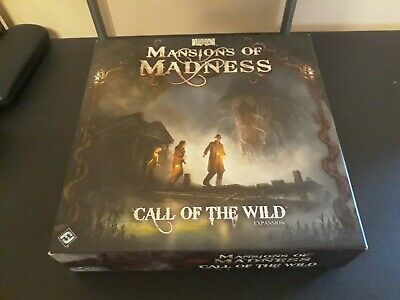 The Laboratory Expansion for Mansions of Madness 1st Edition OOP New Complete