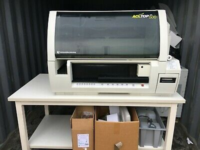 IL ACL TOP 500 CTS Coagulation Analyser complete with software and accessories