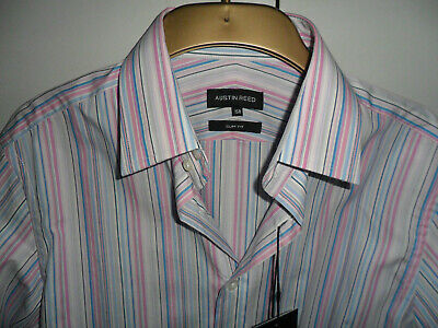 Brand New Austin Reed Signature Strip Shirt Size 15r 4 00 Picclick Uk
