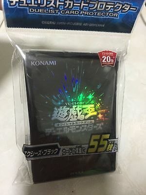 Protector SEALED NEW Japan F//S Blue Version 3 Sleeves 55pcs Yugioh Japanese