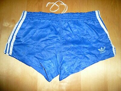 VINTAGE ADIDAS SHORTS Gr D6 Made W Germany Sprinter Slip