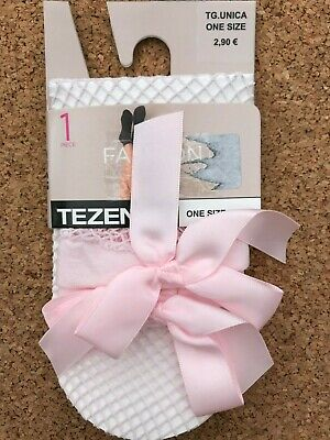 BNWT pink one size Details about  /Calzedonia Tezenis fishnet glittery socks