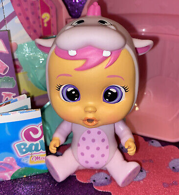 Cry Babies Magic Tears Pink CONEY Bottle House Series Mini Doll Mostly Sealed