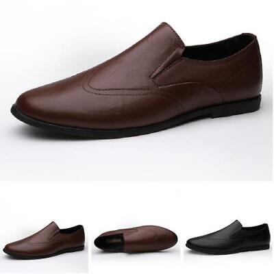 Mens Faux Leather Loafers Shoes Driving Moccasins Pumps Slip on Breathable New L
