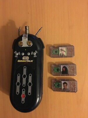 Star Wars COMM TECH TALK READER and 5 CHIPS Bundle Working Sounds 1999