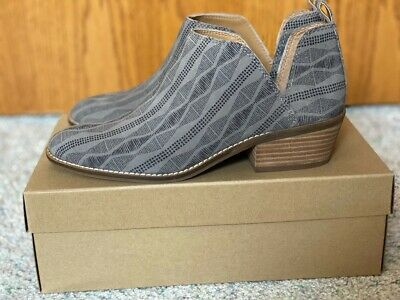 Lucky Brand Women/'s Lk-fayth2 Titanium Grey Suede Low Cut Ankle Booties