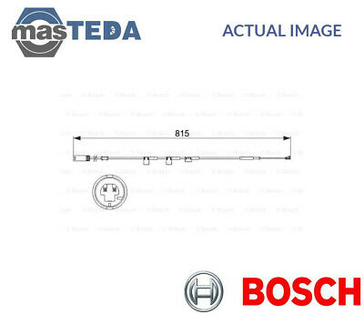 BOSCH Warning Contact brake pad wear 1 987 473 044