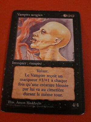 Condition: Good 3RD EDITION * Sengir Vampire MTG REVISED