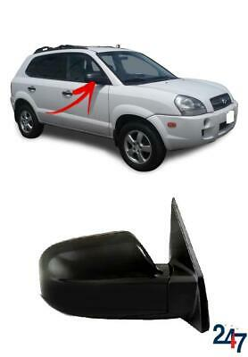 FOR HYUNDAI TUCSON 2004-2009 WING MIRROR ELECTRIC HEATED 3 PIN BLACK RIGHT LHD