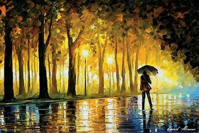BEWITCHED - LEONID AFREMOV - ART POSTER 36 x 24