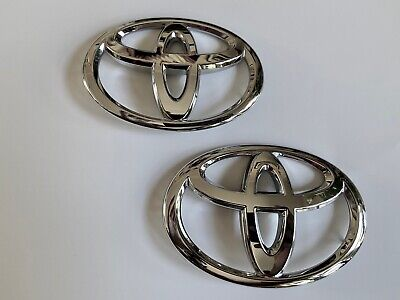 Genuine Toyota 13-16 Scion FRS 86 ZN6 Red Side Emblems Pair SU003-03126 x2 F//S