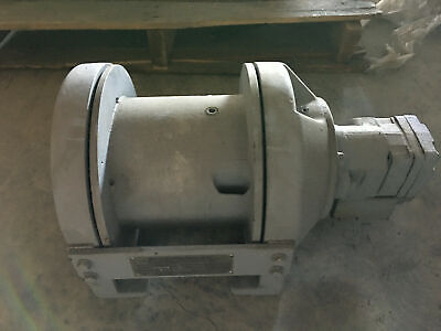 Kinematics Planetary Hydraulic Winch # P5-CC-05-1 5000 lbs Line Pull Never Used