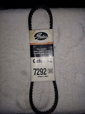 "Gates /""XL/"" Accessory Drive Belt 7480 NOS"