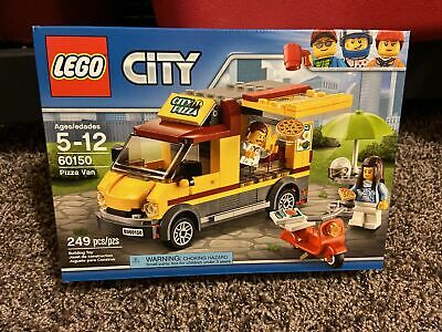 LEGO City 60150 Pizza Van Set NEW AND SEALED Retired nib food truck delivery