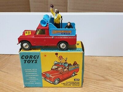 Corgi 487 Chipperfields Land Rover Parade Vehicle Restoration Parts Your Choice