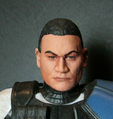 PAINTED HEAD ONLY Star Wars Black Series 6 inch Custom Chirrut Rogue One