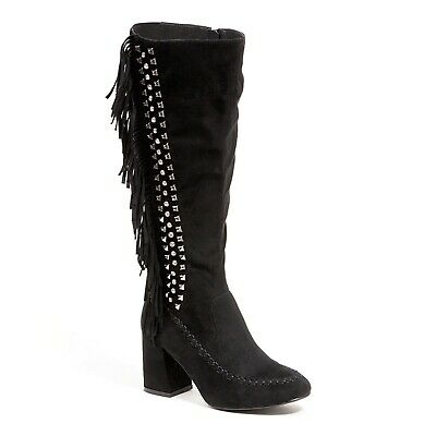 Details about  /Stylish Fall Winter Spring Womens Warm Olive Fashion Suede Knee High Flat Boots