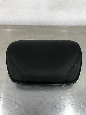 SMOOTH PASSENGER BACKREST BUCKET PAD HARLEY 51132 SPORTSTER XL 883 1200 98-2019+