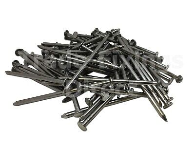 0.5kg Bag of 40 x  2.65mm Round Wire Nails Bright N28301 DIY #3E1A