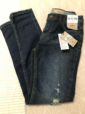 BNWT boys Skinny Jeans From Denim Co / Primark Age 10-11