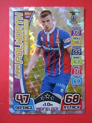 Match Attax SPL 2017/18 MOTM card - Liam Polworth of Inverness