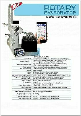 Rotary Evaporator Control it With Your Mobile