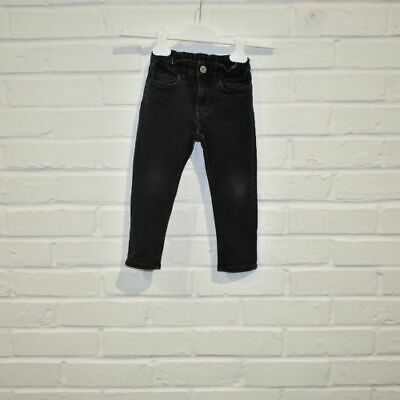 H&M Kids 4 Years Denim Trousers/Jeans  Black