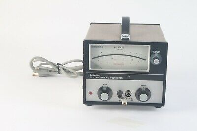 Ballantine 323 Wideband True RMS AC Analog Voltmeter