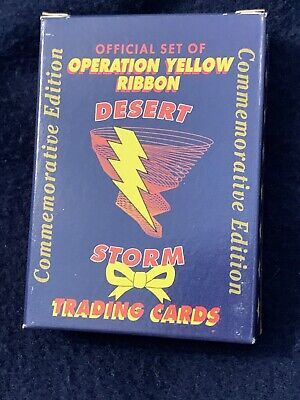 Details about  /1991 Operation Yellow Ribbon Commemorative Desert Storm 60 Card Trading Set