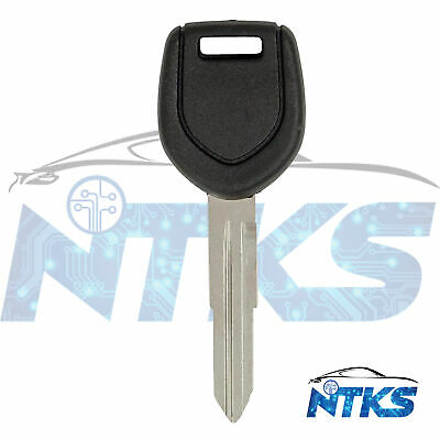 New Uncut Transponder Key Fits for Mitsubishi ID46 Chip Letter A MIT6 2 Pack