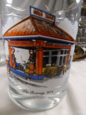 Vintage Gulf Collector's Series Limited Edition  Short Drinking Juice Glass