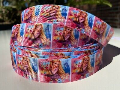 YARD DISNEY PRINCESS RAPUNZEL TANGLED GROSGRAIN RIBBON  CHARACTER