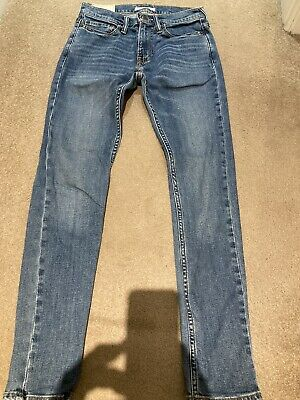 Boys Mens Abercrombie & Fitch Super Skinny Jeans W 26 L 30