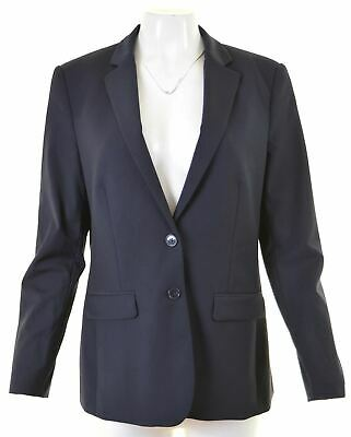 Austin Reed Womens 2 Button Blazer Jacket Size 16 Large Navy Blue Hx11 39 95 Picclick Uk