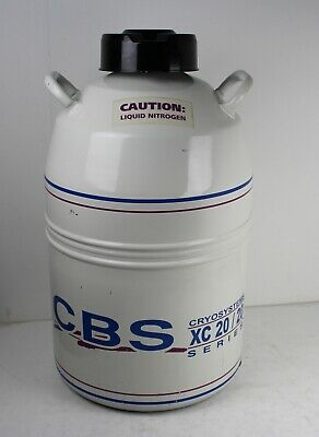 CBS Cryosystems MLNM XC20/20 Liquid Nitrogen Vial/Cell Storage System