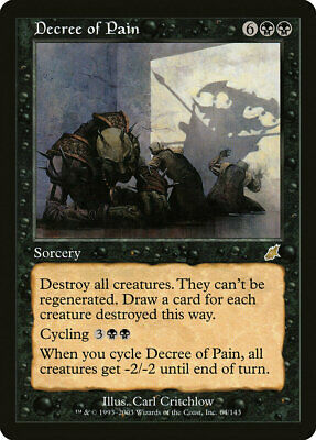 MTG 1x DECREE OF JUSTICE-Scourge TOP RARE played *