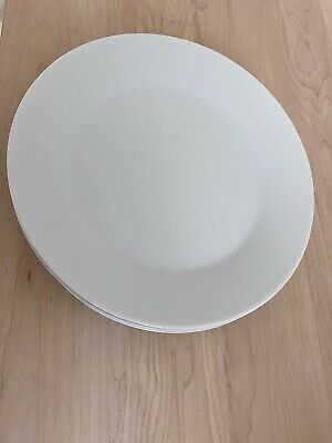 "Charger Plate 12.25/""//31 cm for restaurant 6x Porcelite Wide Rim dîner hôtel"