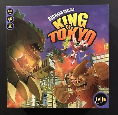 King of tokyo 11 Cards Promo Organized Play Prize- Iello board game